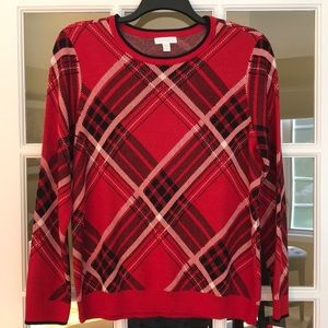Charter Club cotton blend sweater